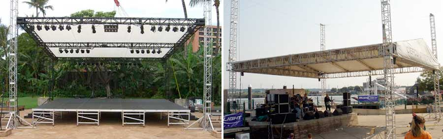 Stage canopy